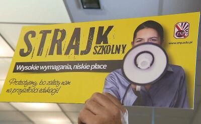 Nauczyciele grożą strajkiem, minister Zalewska uspokaja