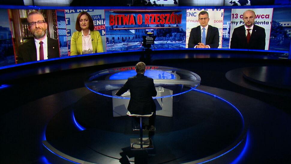 Gra o Rzeszów trwa. Jak kandydaci wypadli w debacie?