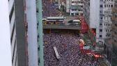 Starcia z policją i próby wejścia do parlamentu. Protesty w Hongkongu