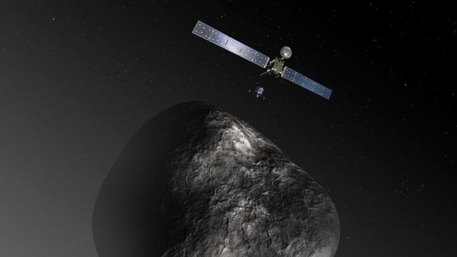Misja Rosetta: pierwsze w historii lądowanie na komecie. Udało się!