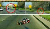Pusta droga, motocyklista i zderzenie z jeleniem. Nietypowy wypadek we Wrocławiu