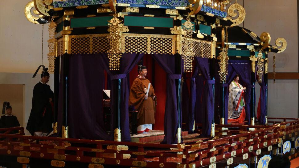 W Japonii odbyła się oficjalna intronizacja nowego cesarza