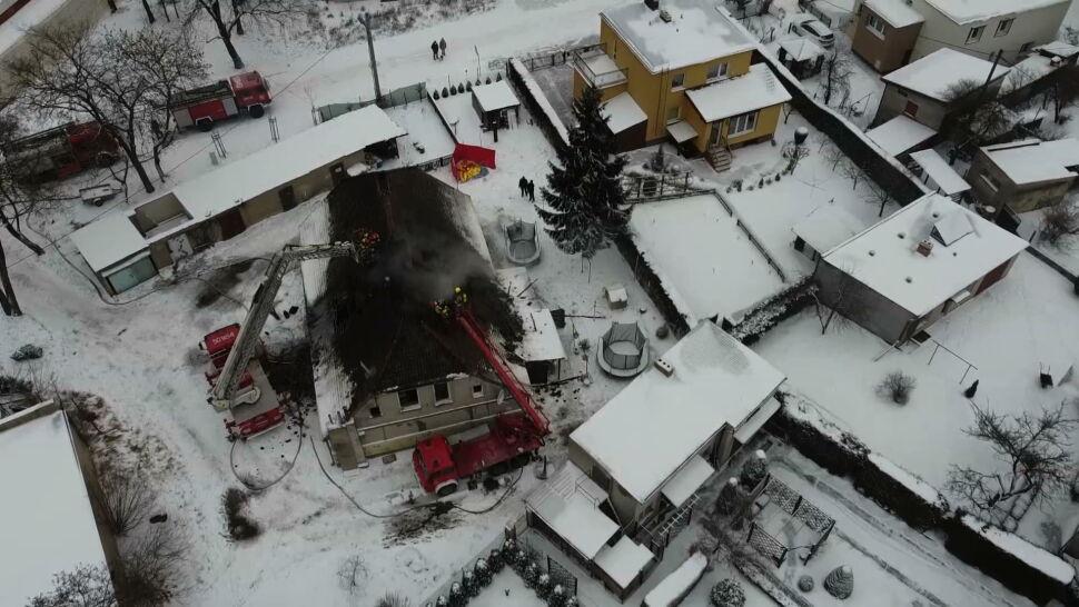 Tragiczny pożar w budynku wielorodzinnym. Zginęły trzy osoby