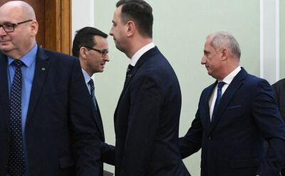 Spotkanie premiera z liderami klubów i kół parlamentarnych