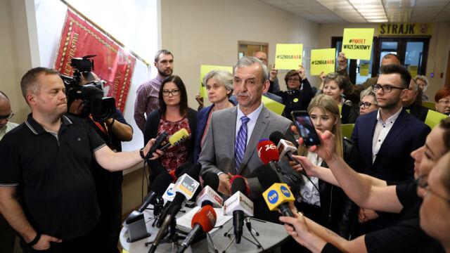 """Kolejna centrala związkowa zawiesza strajk. """"Nie chcemy rozbijać jedności związków"""""""