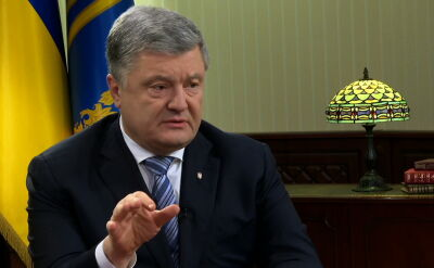 Poroszenko: sankcją mógłby być koniec budowy Nord Stream 2