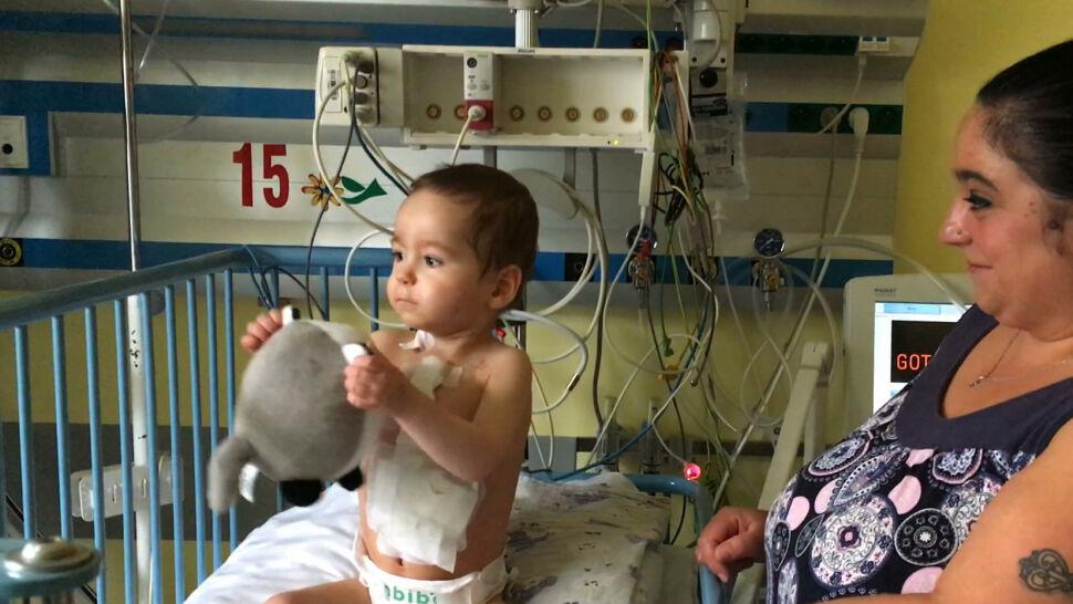 Mateusz dostał nowe serce. To drugi przeszczep u dziecka w tym roku w Polsce