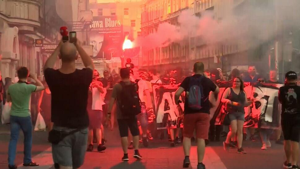"""Nienawistne hasła w centrum Katowic. """"Spirala nienawiści się nakręca"""""""