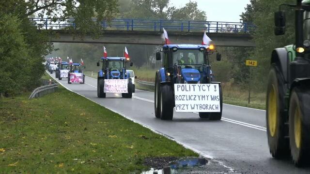 21.10.2020 | Protesty nie ustają. Rolnicy chcą spotkania z premierem