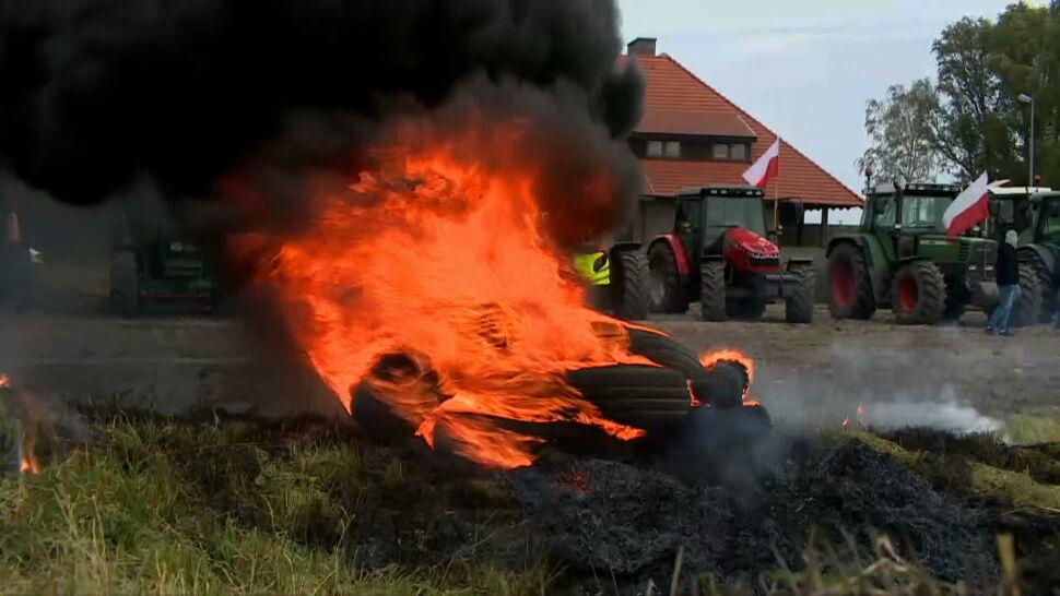 Kolejne protesty rolników. Demonstrujący zablokowali część dróg w Polsce
