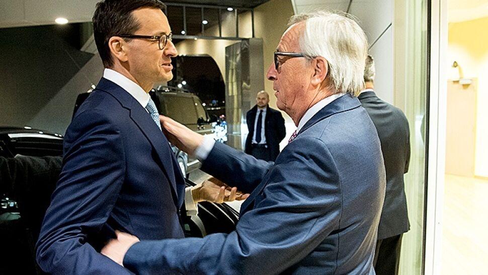 Nadzieja na dialog? Premier rozmawiał z szefem Komisji Europejskiej