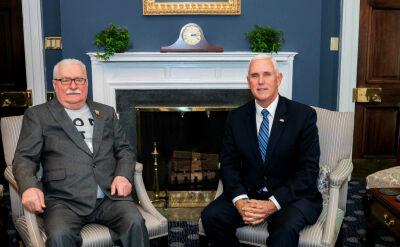 """""""Ameryka zawsze będzie podziwiać jego odwagę"""". Lech Wałęsa z wizytą w Białym Domu"""