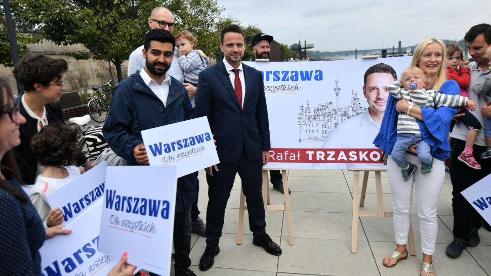 """""""Warszawa. Dla wszystkich"""". Spór kandydatów: kto był pierwszy?"""