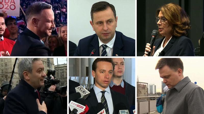 Andrzej Duda przedstawił sztab, kontrkandydaci pracują w terenie
