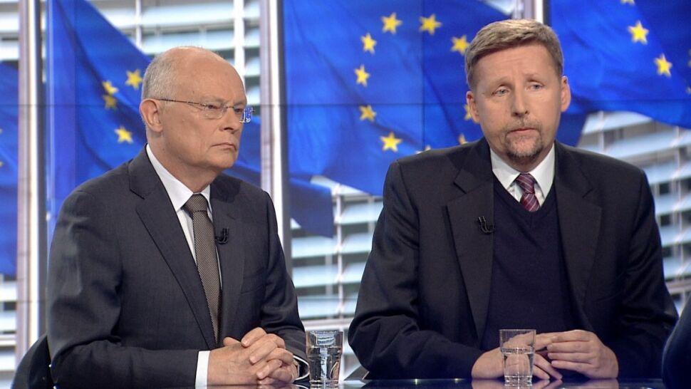 18.01 | Politycy o sporze Polska-UE. Borowski: podwójny język PiS, Migalski: padają zbyt mocne słowa