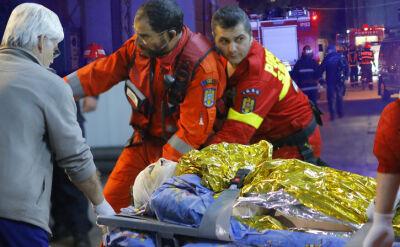 31.10.2015 | Bukareszt: 27 ofiar pożaru w klubie nocnym, 180 rannych
