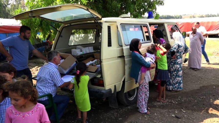 Polacy pomagają w Libanie syryjskim uchodźcom. Libański rząd nie ma już sił ani środków