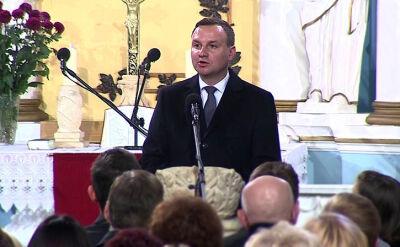 31.10.2015 | Święto Reformacji: prezydent Duda odwiedził luteranów