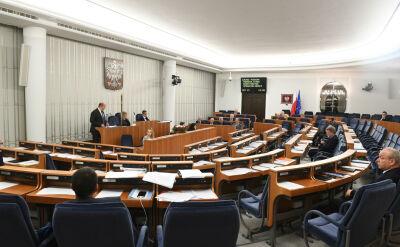 Szybko, cicho, bez dyskusji i poprawek. Senat przegłosował ustawy sądowe