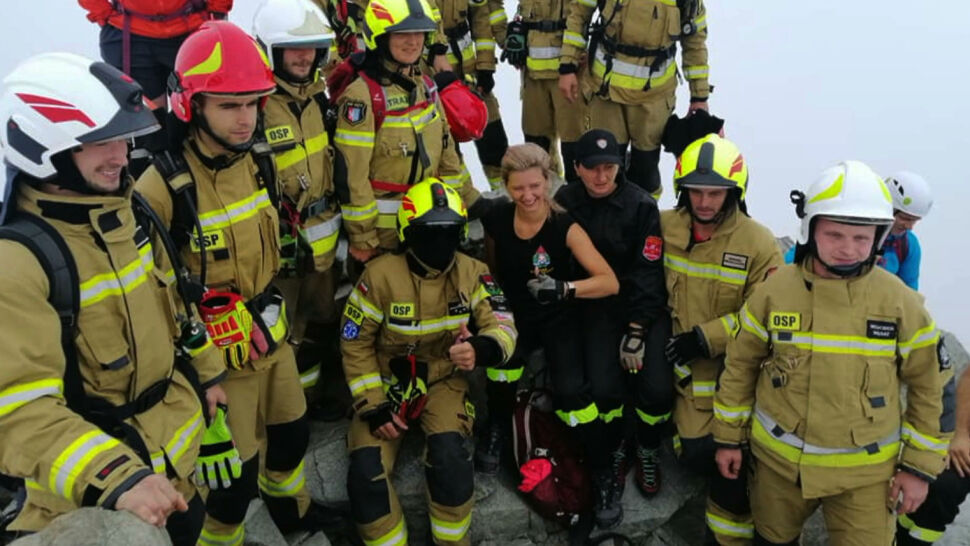 Strażacy w pełnym rynsztunku zdobyli Rysy. W ten sposób chcieli nagłośnić akcję oddawania szpiku