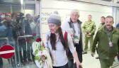 25.02.2014   Justyna Kowalczyk wróciła do Polski