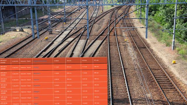 Śmierć pasażera i awaria trakcji zatrzymały pociąg. Prawie dziewięć godzin opóźnienia