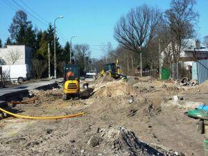 Budują tunel w Miedzylesiu. Asfalt już zdarty