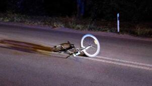 Nastolatek na rowerze potrącony na drodze wojewódzkiej