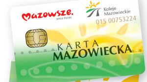 Bilet ZTM i Kolei Mazowieckich na jednej karcie