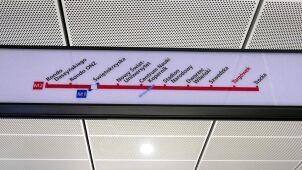 Kilka tysięcy oznaczeń do wymiany na stacjach i w pociągach