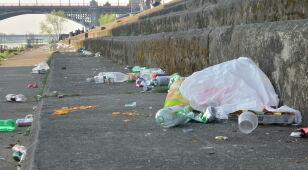 Bulwary: tona śmieci w miesiąc