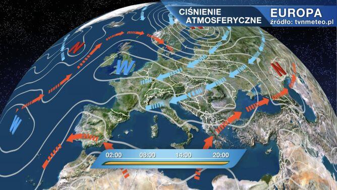 Pogodą w Polsce rządzi wyż Kesja