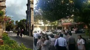 Silne trzęsienie ziemi na Bali. Ucierpiały świątynie i domy mieszkalne
