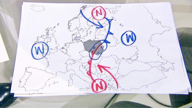 """""""Dzisiaj będą w Polsce dwa światy pogodowe"""""""