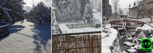 Pierwszy dzień astronomicznej wiosny w zimowej szacie. Wasze relacje