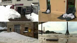 Śnieżyce, wichury, ulewy, Gwałtowna pogoda w Europie