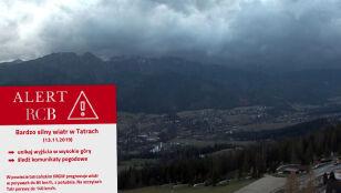 Alert RCB: uwaga na śnieg, silny wiatr i deszcz