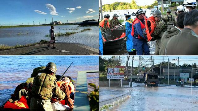 Ponad 100 tysięcy ratowników poszukuje zaginionych w tajfunie Hagibis