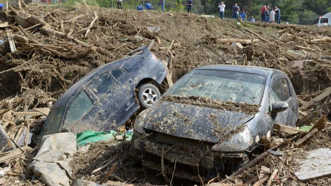 Lawiny błotne i powódź zabijają ludzi na Sri Lance