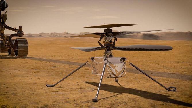 Zbada Marsa z wysokości. <br />Dron Ingenuity szykuje się do lotu