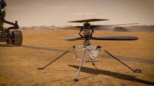Zbada Marsa z wysokości. Dron Ingenuity szykuje się do lotu