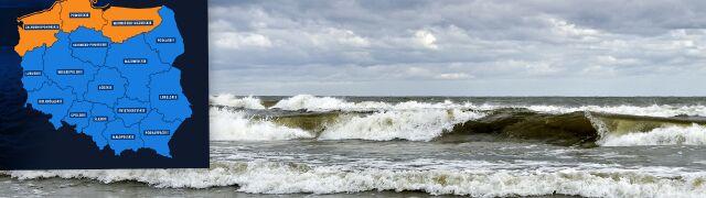 Ostrzeżenia IMGW: woda powyżej stanów ostrzegawczych