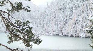 Piękna zima tej jesieni panuje w Syczuanie