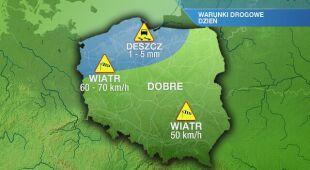 Warunki drogowe we wtorek 14.01